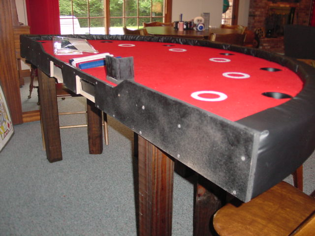 How To Make A Blackjack Table